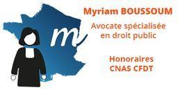 Myriam Boussoum - Avocate en droit public