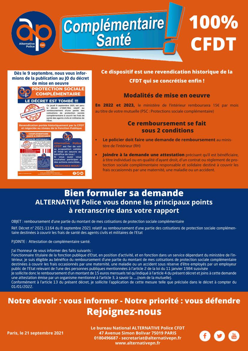 Complémentaire santé : 100% CFDT