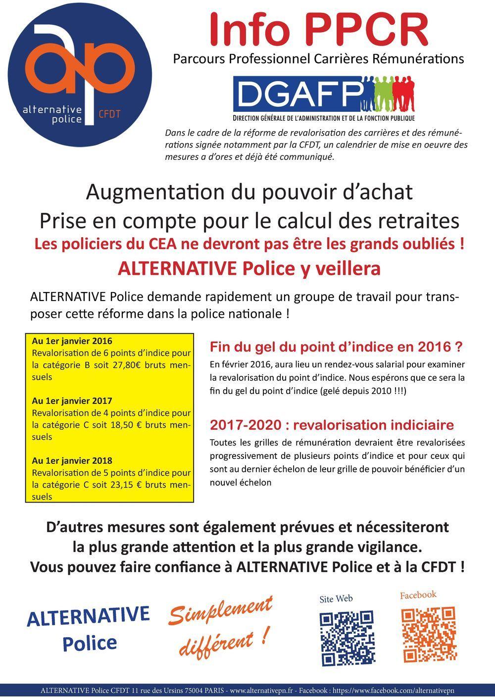 Information Ppcr Alternative Police