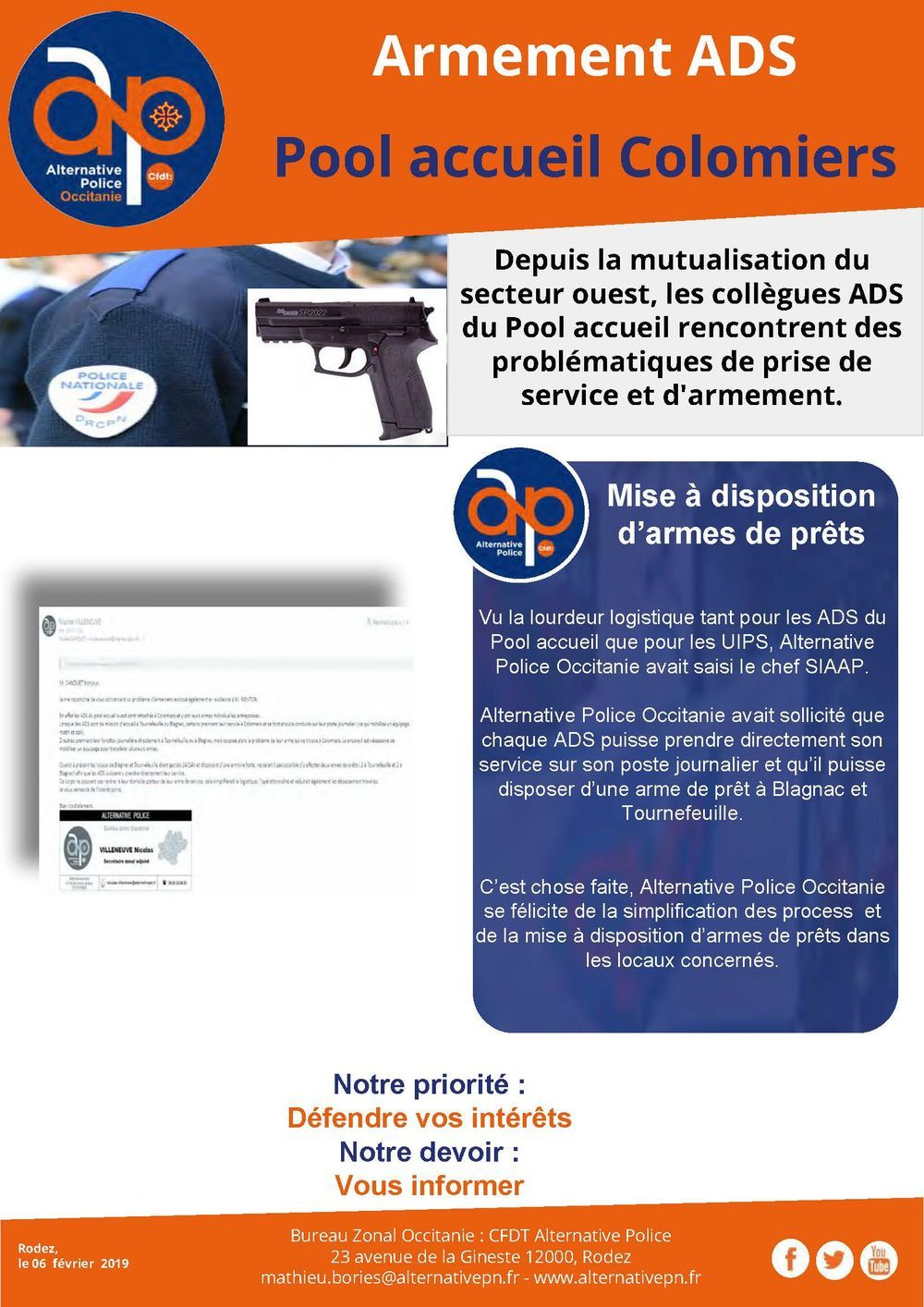 Armement ADS
