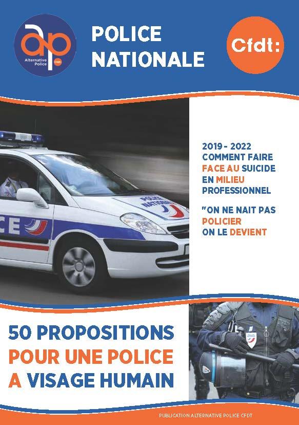 50 propositions pour une Police à visage humain !