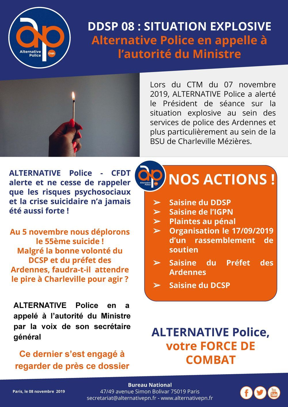 DDSP 08 : Une situation explosive !