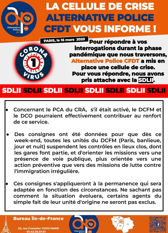 Coronavirus information SDLII