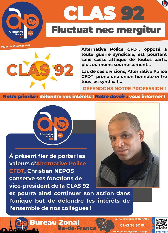 CLAS 92 - Fluctua nec mergetur
