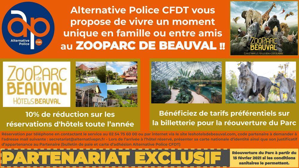 Réouverture du Zoo Parc de Beauval