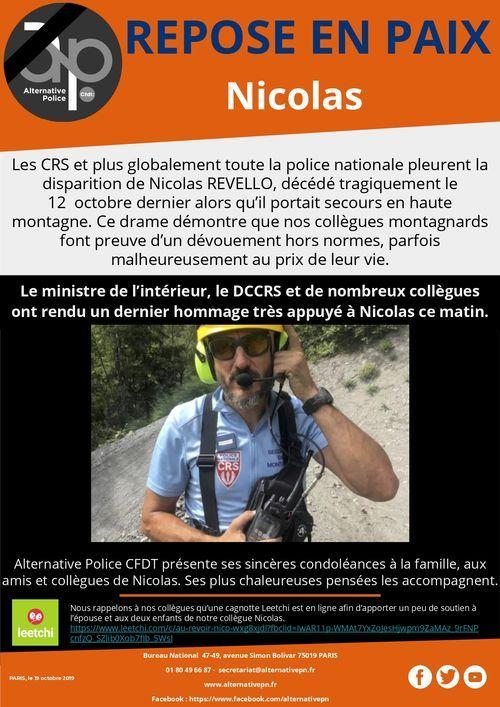 REPOSE EN PAIX  Nicolas