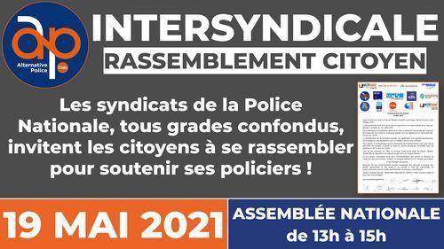 Intersyndicale : rassemblement le 19 mai 2021